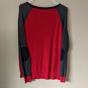 Jcpenney red longsleeve top